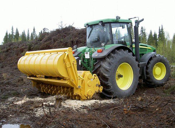 Mericrusher MJH 241 DTG forest