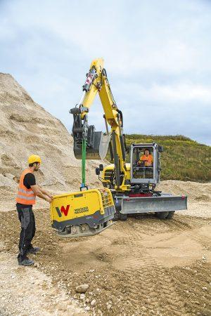 Wacker EW100 lifting