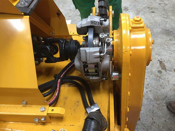 Mericrusher close-up