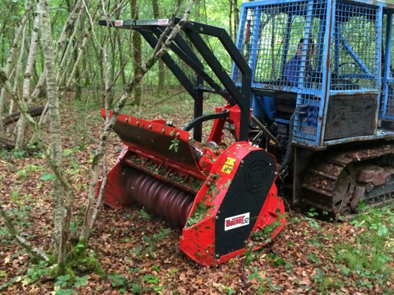 Bugnot Forestry Crushers / Grinders
