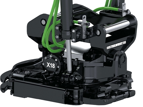 Steelwrist Tiltrotator X18