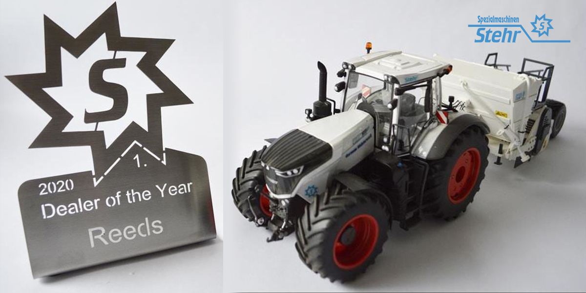 Reeds - Stehr Dealer of the Year 2020 with vehicle & trailer