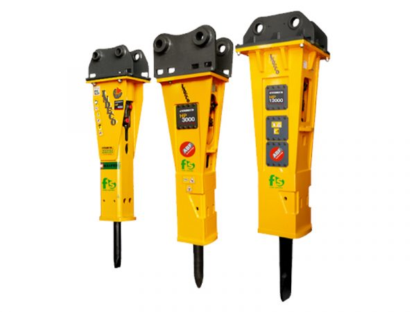 Indeco Hydraulic Hammers at Reeds Construction Ltd