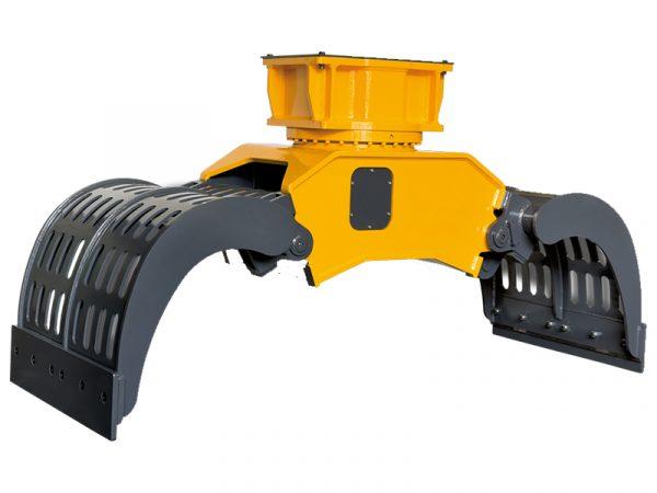 Indeco Multi Grabs at Reeds Construction Ltd