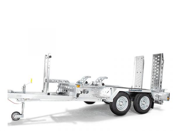 Indespension plant trailers at Reeds construction Ltd