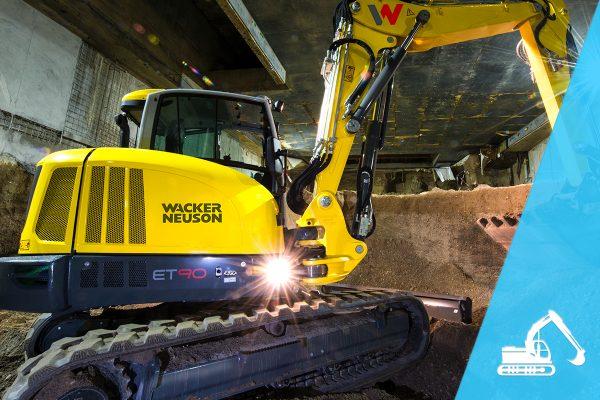 Waker Neuson excavator at Reeds Construction Ltd.