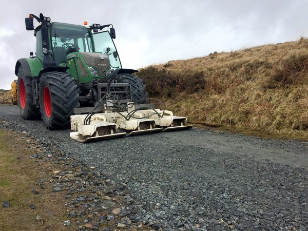 New track installation - reeds vehicle on track